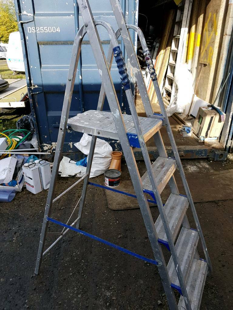 Alloy steps ladder