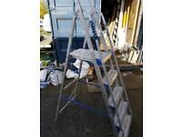Alloy steps ladder