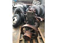 Lister engine single cylinder