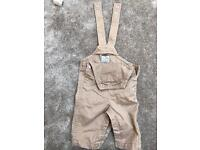Early days dungarees 0-3 months