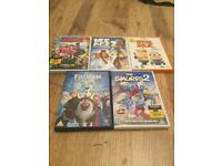 5 DVDS for £2 each