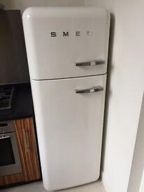 SMEG Retro Fridge Freezer orig £1175 yours for £200 - EXCELLENT Condition