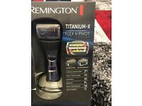 Remington titanium-x flex&pivot technology