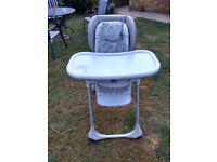 Chicco High Chair by Mothercare.