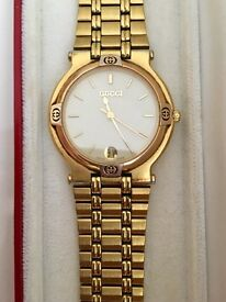 Gucci Men's Gold Plated Watch