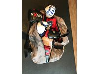 Bag of Boxing Gloves & Pads