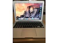 "Apple MacBook Air 13"" screen 2013 model bundle"