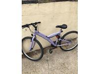 18inch woman's/girls bike
