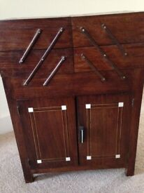 Lovely sewing cabinet