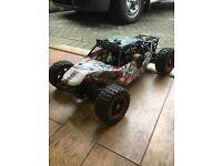 Losi dbxl 1/5 th scale petrol 4x4 buggy