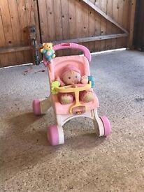 Fisher price baby walker