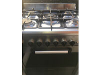 BAUMATIC PROFESSIONAL GAS COOKER 60 CM INOX LOOK ...FREE DELIVERY