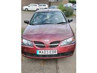 Cheap car (Nissan almera)