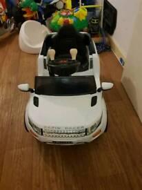 Mini Evoque 6V children's Ride-on range rover