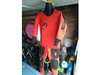 Diving dry suit.