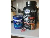 Protein and creatine