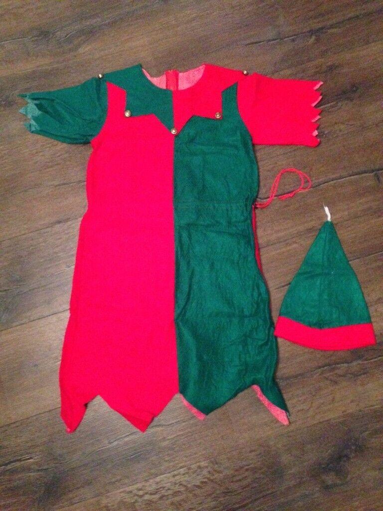 Ladies Christmas Elf Costume - Fancy Dress