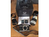 Fujifilm X-M1 Digital Camera with two lenses - 16-50mm and 50-230mm