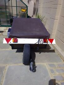 Trailer ideal for camping