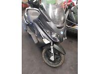 2010 Piaggio 125cc, Low mileage