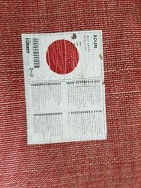 Red Round Ikea Rug