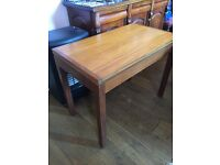 Card table with baize in excellent condition.