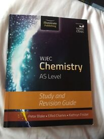 WJEC CHEMISTRY AS STUDY GUIDE FOR SALE