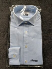 TM Lewin Oxford Fitted shirt - Light blue
