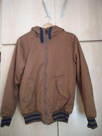 H&M mens brown jacket
