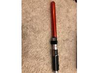 Star Wars light saber barbecue tongs