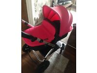 Ickle bubba pink pram/stroller will knock £10 off if collected today