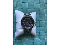 Pulsar quartz gents watch boxed excellent condition
