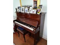 Challen upright overstrung piano