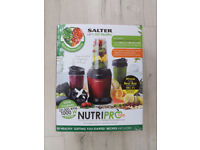 Salter NutriPro 100 multi purpose blender for superfood extraction NEW / BOXED