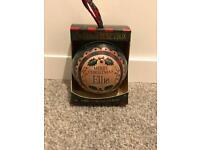 Ellie Personalised Christmas Tree Money Box Bauble