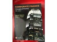 Corporate finance- principles and practice (fifth edition)