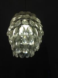 Tear drop light shade