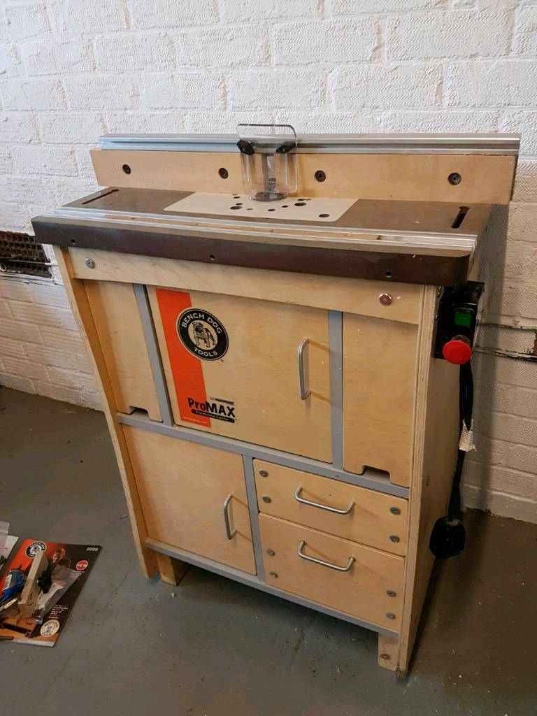 Bench Dog Promax Router Table - Table Design Ideas