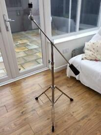 Vintage Tama Titan Cymbal Boom Stand with iron counterweight attachment.