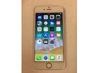 iPhone 6s Rose Gold 64Gb Unlocked in immaculate condition