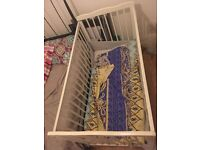 Baby cot which in not old 6 months with original package
