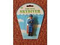 Childrens Party Bag Filler Toy Dare Devil Skydiver / Parachutist Parachute