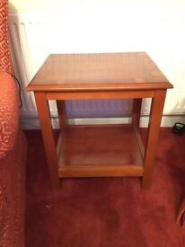 Yew small/occasional table