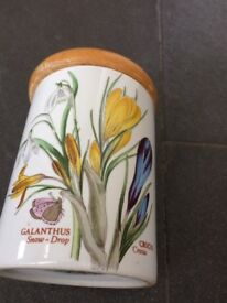 Portmerion Storage jar from the Botanic collection
