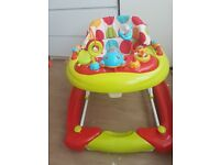 2 in 1 baby walker and rocker