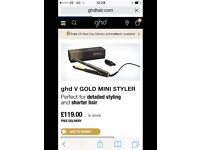 GHD Gold Mini STRAIGHTNERS rrp £119