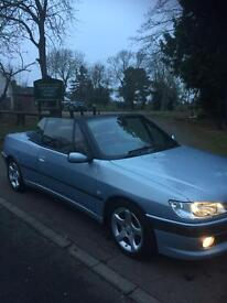 Peugeot 306 Cabriolet 2000/W, full leather SWAP