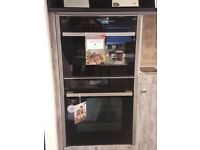 Ex Display Never Cooked In Neff Seamless Combination Oven Set