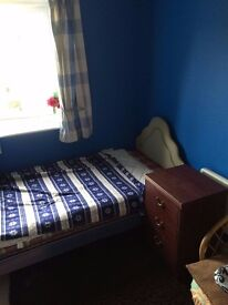 Single room to share in two bedroomed flat