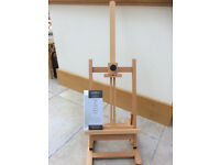 Table Easel Eden Windsor & Newton) Handcrafted wood, H frame construction fully assembled, boxed